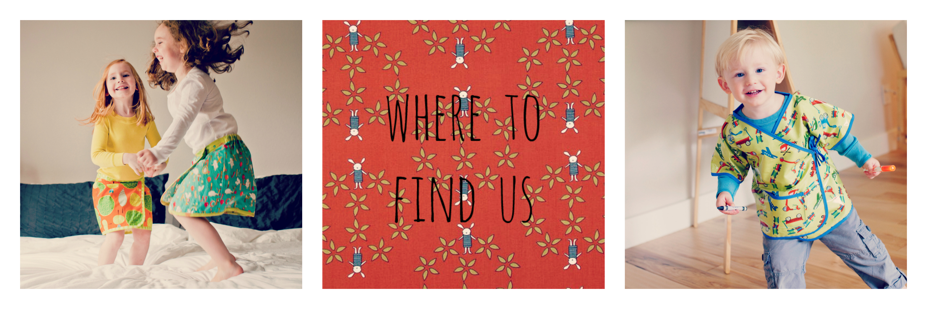 where to find us collage